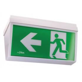 LED Ceiling Mount Exit & Emergency Light