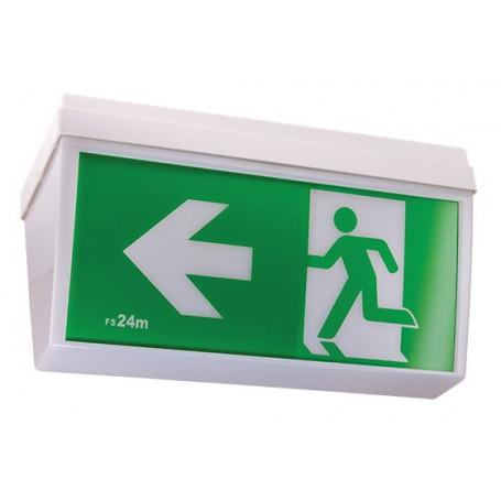 LED Exit & Emergency Light CEILING MOUNT