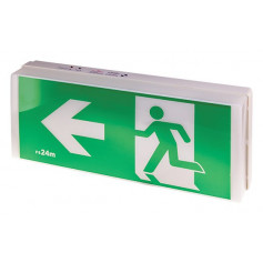 LED Exit & Emergency Light WALL MOUNT