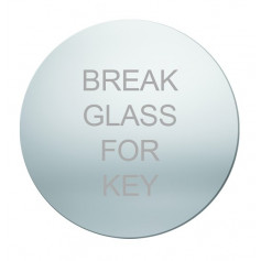 Replacement Glass for Emergency Key Box