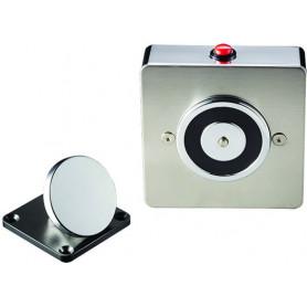 SLIMLINE Elegant 50kg 24VDC Magnetic Door Holder