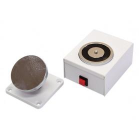 Wall Mount 50kg Magnetic Door Holder White