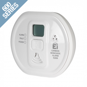 Carbon Monoxide Alarm (With Lifetime 6 Years) With LCD Display, Sealed Lithium Battery and Wireless RadioLINK Interconnectivity
