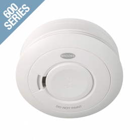 10 Year Lithium Cell Battery Powered Photoelectric Smoke Alarm with Wireless RadioLINK Interconnectivity