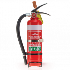 FlameStop 1.0kg - Hose ABE Powder Type Portable Fire Extinguisher