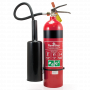 FlameStop 3.5kg CO2 Type Portable Fire Extinguisher