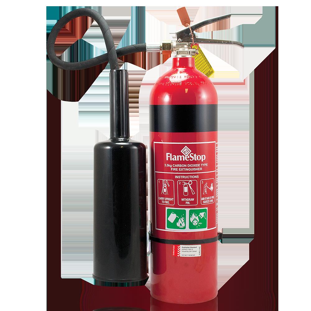Flamestop 3 5kg Co2 Type Portable Fire Extinguisher