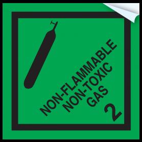 Dangerous Goods - Freight Sticker