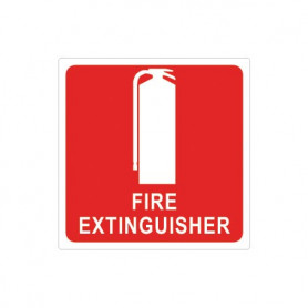 100mm Extinguisher Location Sign