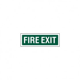 Fire Exit Sign - 435 x 120mm