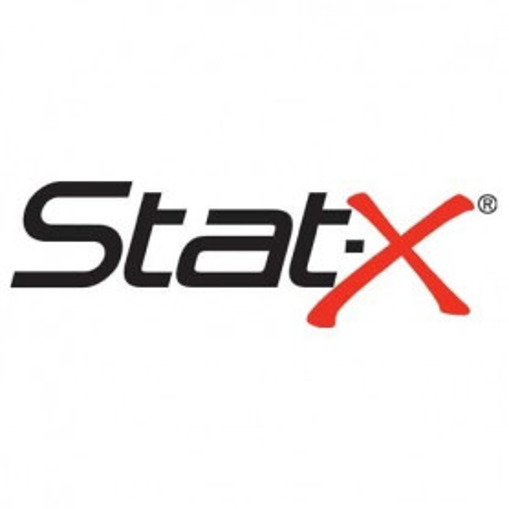 Label - STAT-X EVACUATE ON SOUNDING OF ALARM