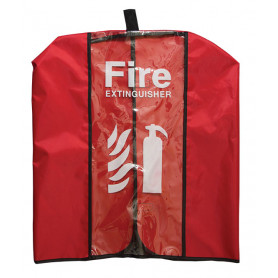 Clear Vinyl Extinguisher Cover (suitable for 4.5kg extinguishers)