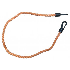 Rope with Clip to Secure Hose Reel Cover