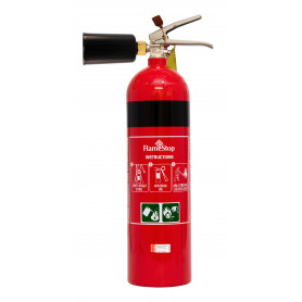 FlameStop 3.5kg CO2 Nozzle Type Portable Fire Extinguisher