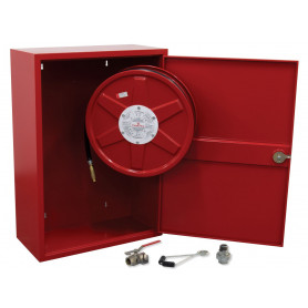FLAMESTOP Hose Reel 19mm x 36m Swing Arm with Cabinet