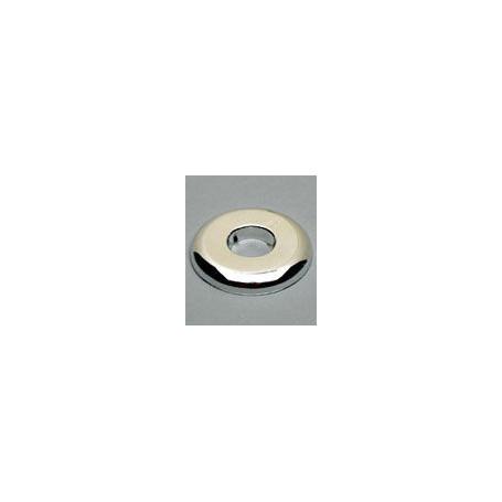 80mm WHITE PLASTIC WALL PLATE (FLR/CLG)