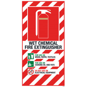 Wet Chem Blazon Small 210 x 410mm