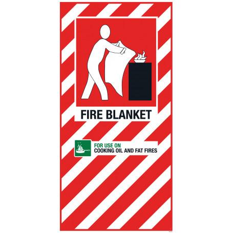 Fire Blanket Blazon Large 600 x 300mm