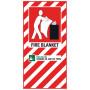 Fire Blanket Blazon Small 210 x 410mm