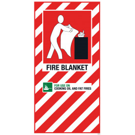 Fire Blanket Blazon Small 210 x 410mm