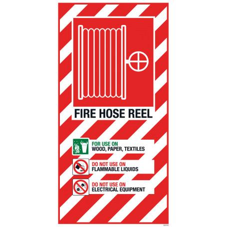 Fire Hose Reel Blazon Small 210 x 410mm