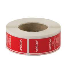Sampling Point Decal Roll of 200 Stickers