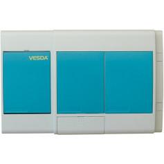 VESDA LaserSCANNER - BLANK PLATES - 7 RELAYS