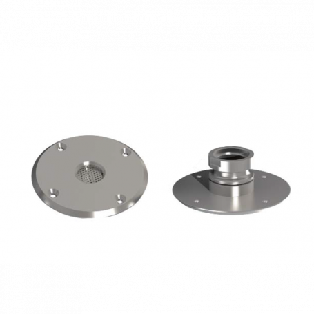 Tamper Proof Stainless Steel Sampling Point to suit Pipe Entry