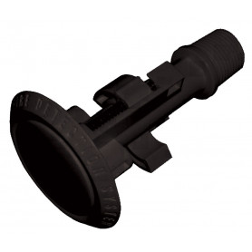 Flush Mount Sampling Point - Black