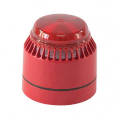 Flashni Red Evacuation Sounder & Strobe Combo Unit