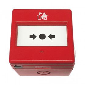 IP66 Red Conventional Weatherproof Manual Call Point