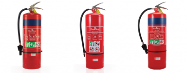 Air/Water & Foam Fire Extinguishers