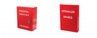 Cabinets with Wording