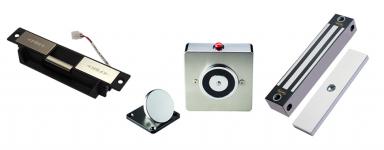 Door Holders, Strikes & Electro Magnetic Locks