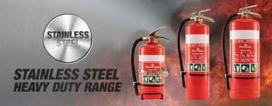 Stainless Steel Heavy Duty Extinguishers